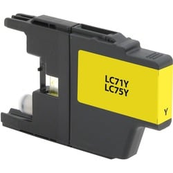 V7 Ink Cartridge - Alternative for Brother (LC75Y) - Yellow