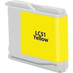 V7 Ink Cartridge - Alternative for Brother (LC51Y) - Yellow