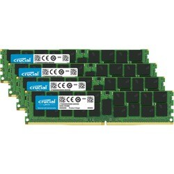 Crucial 64GB Kit (16GBx4) DDR4 PC4-17000 Registered ECC 1.2V