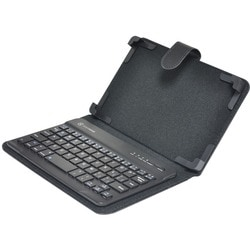"Gear Head Keyboard/Cover Case (Folio) for 7"" Tablet - Black"