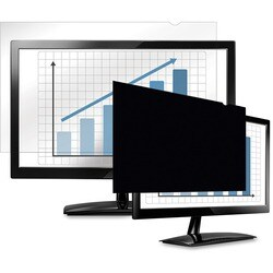 Fellowes Blacks out screen image when viewed from the side to prevent