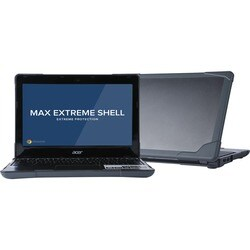 """Max Cases Extreme Shell for ACER C720 11"""" Chromebook (Grey)"""