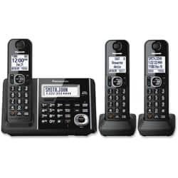 Panasonic KX-TGF343B DECT Cordless Phone - Black|https://ak1.ostkcdn.com/images/products/etilize/images/250/1029802913.jpg?impolicy=medium