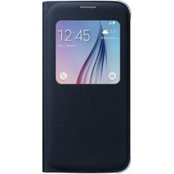 Samsung S-View Carrying Case (Flip) for Smartphone - Black Sapphire