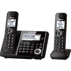 Panasonic Link2Cell KX-TGF342B Bluetooth Cordless Phone - Black