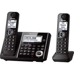 Panasonic Link2Cell KX-TGF342B Cordless Phone - Black|https://ak1.ostkcdn.com/images/products/etilize/images/250/1029833384.jpg?impolicy=medium