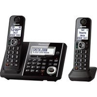 Panasonic Link2Cell KX-TGF342B Cordless Phone - Black