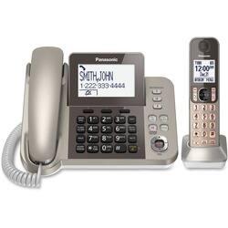 Panasonic KX-TGF350N DECT 6.0 Cordless Phone - Silver, Black|https://ak1.ostkcdn.com/images/products/etilize/images/250/1029833387.jpg?impolicy=medium