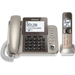 Panasonic KX-TGF350N DECT 6.0 Cordless Phone - Silver, Black