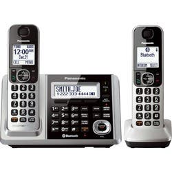 Panasonic Link2Cell KX-TGF372S Bluetooth Cordless Phone - Silver|https://ak1.ostkcdn.com/images/products/etilize/images/250/1029833389.jpg?impolicy=medium