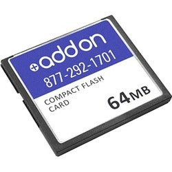 AddOn Cisco MEM1800-32U64CF Compatible 64MB Factory Original Compact