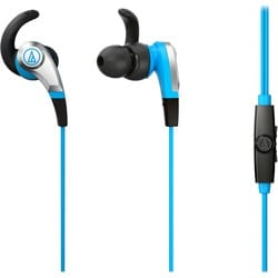 Audio-Technica ATH-CKX5iS SonicFuel In-ear Headphones with In-line Mi