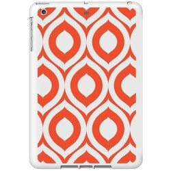 OTM Classic Prints White iPad Shell Case, Elm Bold Orange