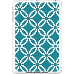 OTM iPad Air White Glossy Case Elm Bold Collection, Teal