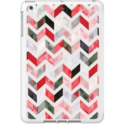 OTM iPad Air White Glossy Case Ziggy Collection, Red