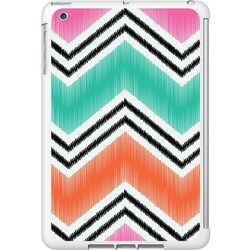 OTM iPad Mini White Glossy Case Bold Collection, Pink
