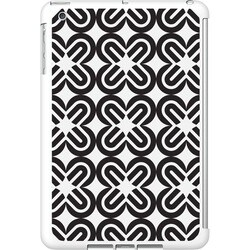 OTM iPad Mini White Glossy Case Black/White Collection, Mirrors