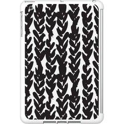 OTM iPad Mini White Glossy Case Black/White Collection, Hearts