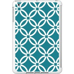 OTM iPad Mini White Glossy Case Elm Bold Collection, Teal