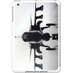 OTM iPad Mini White Glossy Case Rugged Collection, Airplane