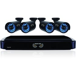 Night Owl 4 Channel Smart HD Video Security System with 1 TB HDD and