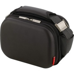 Valira Nomad Satin Mini insulated Black Lunch Bag