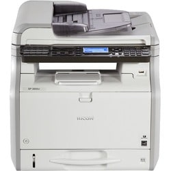Ricoh SP 3600SF LED Multifunction Printer - Monochrome - Plain Paper