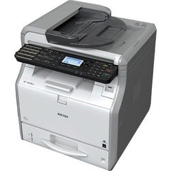 Ricoh SP 3610SF LED Multifunction Printer - Monochrome - Plain Paper
