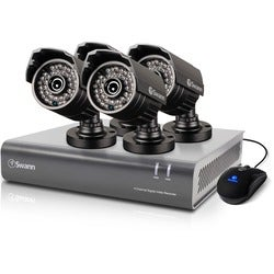 Swann DVR4-4400 - 4 Channel 720p Digital Video Recorder & 4 x PRO-735