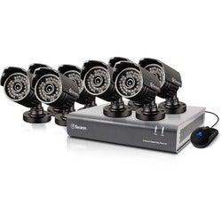 Swann DVR8-4400 - 8 Channel 720p Digital Video Recorder & 8 x PRO-735