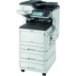 Oki MC873DNX LED Multifunction Printer - Color - Plain Paper Print -