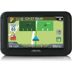 Magellan RoadMate 5330T-LM Automobile Portable GPS Navigator - Portab