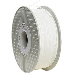 Verbatim PLA 3D Filament 1.75mm 1kg Reel - White - TAA Compliant