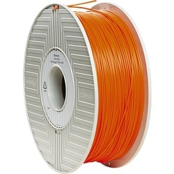 Verbatim PLA 3D Filament 1.75mm 1kg Reel - Orange - TAA Compliant