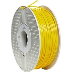 Verbatim PLA 3D Filament 3mm 1kg Reel - Yellow - TAA Compliant