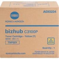 Konica Minolta TNP50Y Original Toner Cartridge - Yellow