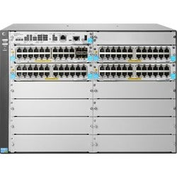 HP 5412R 92GT PoE+/4SFP+ (No PSU) v3 zl2 Switch