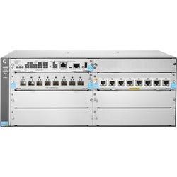 HPE 5406R 8-port 1/2.5/5/10GBASE-T PoE+/ 8-port SFP+ (No PSU) v3 zl2