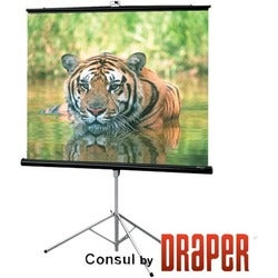 "Draper Consul Projection Screen - 99"" - 1:1 - Surface Mount"