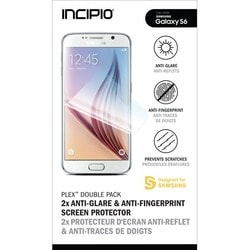 Incipio 2-Pack Anti-Glare & Anti-Fingerprint Screen Protector for Sam