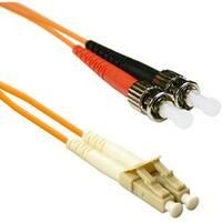 ENET 5M ST/LC Duplex Multimode 50/125 OM2 or Better Orange Fiber Patc