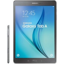 "Samsung Galaxy Tab A SM-P550 16 GB Tablet - 9.7"" - Plane to Line (PLS"