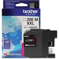 Brother Genuine LC20EM INKvestment Super High Yield Magenta Ink Cartr