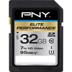 PNY Elite Performance 32 GB SDHC|https://ak1.ostkcdn.com/images/products/etilize/images/250/1030260209.jpg?impolicy=medium