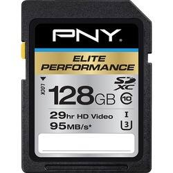 PNY Elite Performance 128 GB SDXC|https://ak1.ostkcdn.com/images/products/etilize/images/250/1030260211.jpg?impolicy=medium