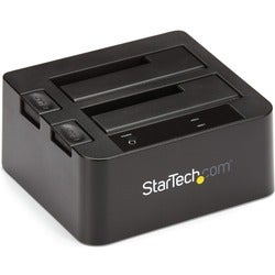 "StarTech.com USB 3.1 (10Gbps) Dual-Bay Dock for 2.5""/3.5"" SATA SSD/HD"