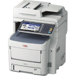 Oki MC770+ LED Multifunction Printer - Monochrome - Plain Paper Print