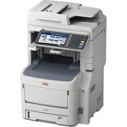 Oki MC780+ LED Multifunction Printer - Color - Plain Paper Print - De