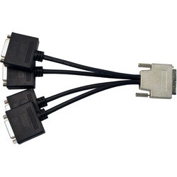 Visiontek VHDCI to 4x DVI-D Cable (M/F)