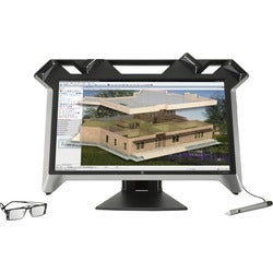 "HP Business Zvr 23.6"" 3D LED Virtual Reality Display - 16:9 - 5 ms"